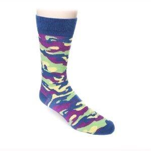 Graffiti camp designer socks